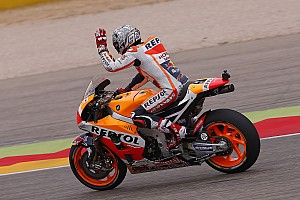 MotoGP 予選レポート MotoGPアラゴンGP 予選:マルケスがポールポジション獲得。ビニャーレスがフロントロウ