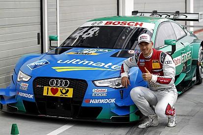 DTM Hungaroring: Eerste rij voor Audi, Wittmann op derde plek