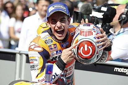 MotoGPアラゴンGP 決勝:マルケスが熾烈な戦いを制し、ハットトリックを決めた。