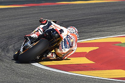 "Marquez: Mucize kurtuluşum her zamanki gibi ""dirseğimle"" oldu"