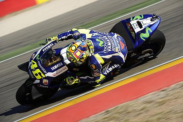 Valentino Rossi ärgert sich nach Platz 3 über späten Fahrfehler