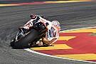 Teknik elbow-down kembali selamatkan Marquez