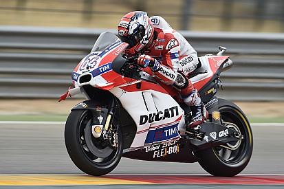 """Довициозо провалил гонку в Арагоне из-за """"необычно высокой"""" температуры шин"""