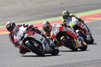 Mauvaises vibrations en Aragón pour l'équipe Ducati