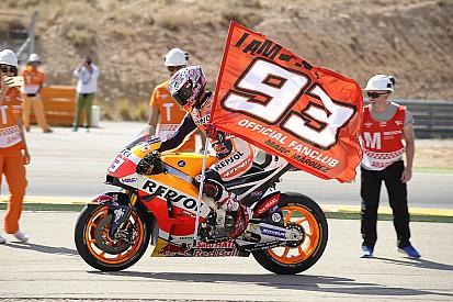 Marquez tak yakin kunci gelar juara di Motegi