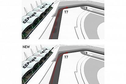分析:新セパン・サーキットの変更点を大公開。ターン15に逆バンクが発生