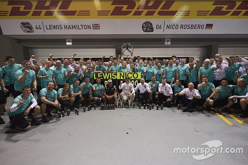 Sepang, primer 'match point' para Mercedes