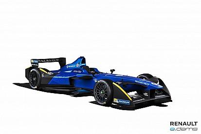 Renault e.dams présente sa nouvelle livrée