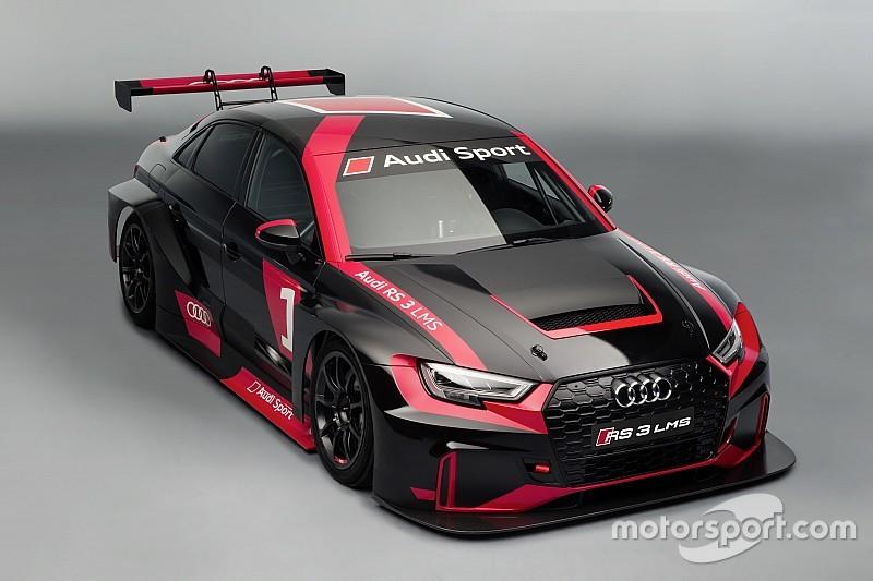 Audi stapt TCR in met nieuwe RS 3 LMS