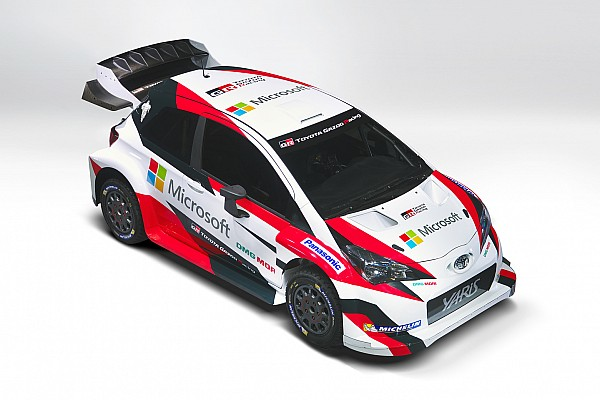 Toyota svela a Parigi la Yaris WRC e il sodalizio con Microsoft!