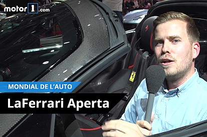 Vidéo - Dans la LaFerrari Aperta!