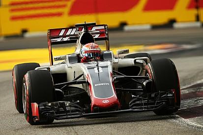 """Haas: """"Neerwaartse spiraal door problemen met afstelling Singapore"""""""