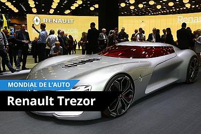 Vidéo - Au plus près du Renault Trezor!