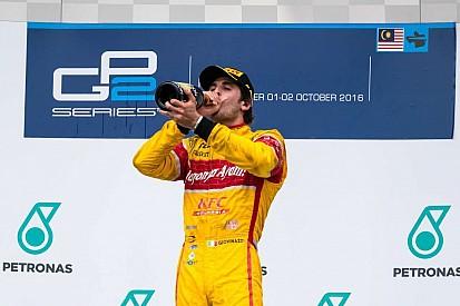 Giovinazzi toma el liderato de la GP2