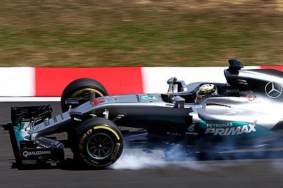 Hamilton se impone en FP3 con Verstappen de invitado especial