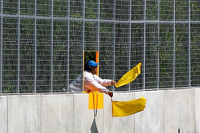 Drivers pushed for new double waved yellow flag ruling