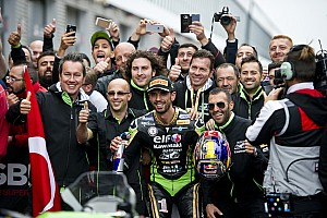 Supersport Sıralama turları raporu Supersport Magny-Cours: Şampiyonluk için son bir adım kaldı! Kenan ilk sırada!