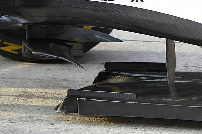 Analisis teknis ringkas: 'Sayap kelelawar' di bawah sasis Ferrari