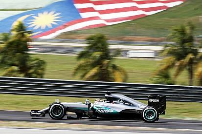 Formel 1 in Sepang: Die Startaufstellung in Bildern