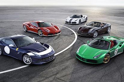 Découvrez les cinq Ferrari édition spéciale 70 ans!