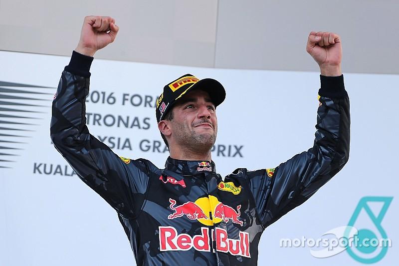 Formel 1 in Sepang: Das Rennergebnis in Bildern