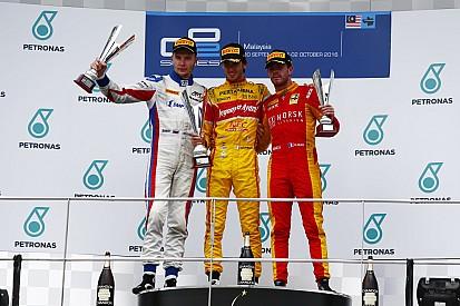 GP2マレーシア:ジョビナッツィがランキング首位に浮上。7ポイント差で最終アブダビへ