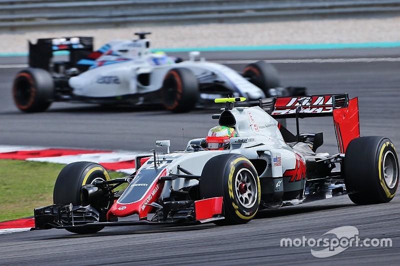 Haas é multada em € 5.000 por incidente com Gutiérrez