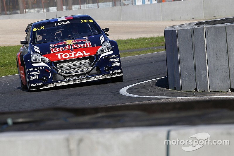 Riga WRX: Loeb ilk galibiyetini almayı başardı