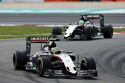 Force India - Un point pris à Williams, et des regrets