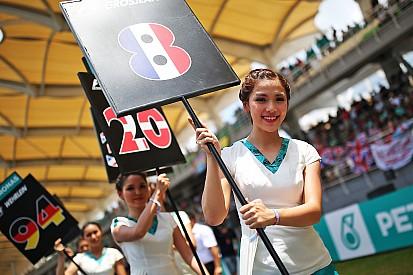 Grid Girls da Malásia brilham antes de prova da F1