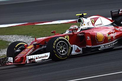 Räikkönen perdait 3 dixièmes au tour à cause de Rosberg