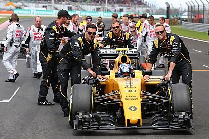 Renault quedó satisfecho con el resultado de Palmer