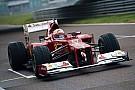 Vettel az F2012 volánja mögött, MOST