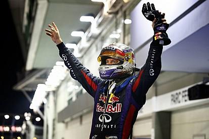 Ma 3 éve, hogy Vettel triplázott Szingapúrban a Red Bullal