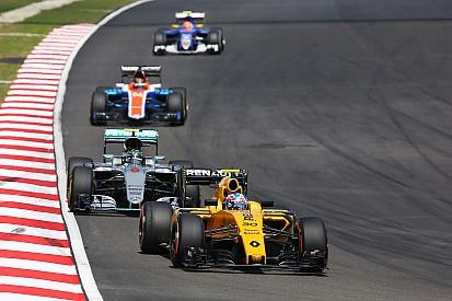 """Palmer en """"éxtasis"""" tras marcar su primer punto en F1"""