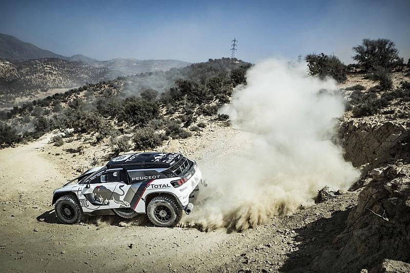 Sainz se sitúa tercero en Marruecos