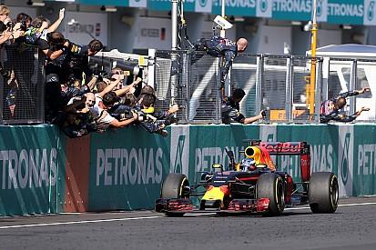 Hamilton reclama, Ricciardo celebra: frases do fim de semana