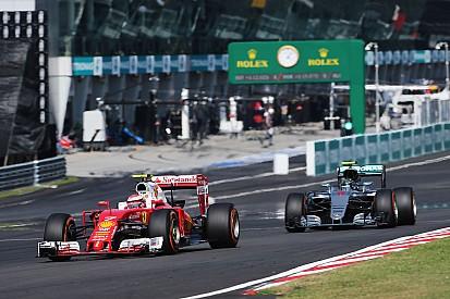 """Räikkönen - Le """"bouton magique"""" de Mercedes explique leur domination"""