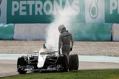 Mercedes: Keine Verbindung zwischen Motorschäden bei Lewis Hamilton