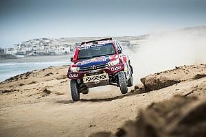 Rallye-Raid Rapport d'étape Maroc, étape 2 - Al-Attiyah encore, Peugeot perd du terrain