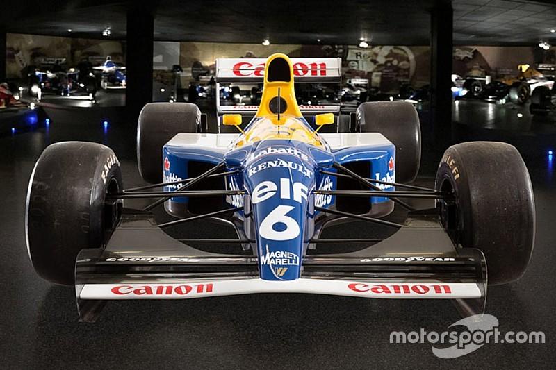 La Williams FW14B victorieuse à Suzuka est à vendre