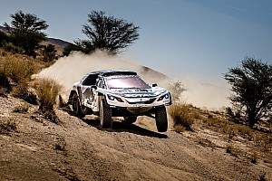 Cross-Country Rally Resumen de la fase Sainz ganó la tercera etapa de Marruecos