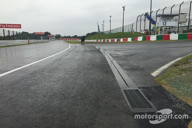 Previsão indica chance de chuva forte para GP do Japão