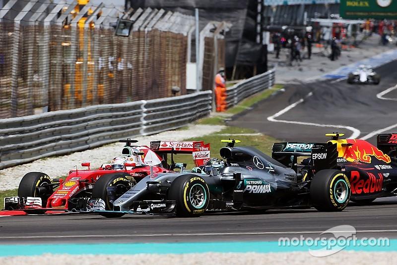 Vettel niega que esté pilotando demasiado al límite