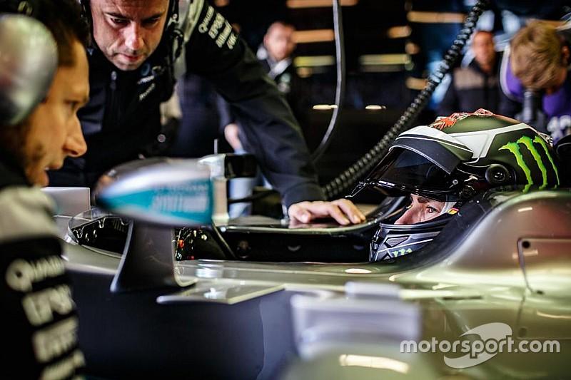 """Lorenzo au volant de la Mercedes F1, un """"rêve devenu réalité"""""""