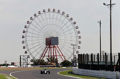 Rosberg snelste in eerste training Japan, Verstappen zesde