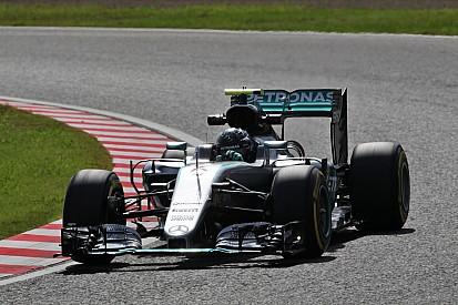 F1日本GPフリー走行2回目:タイム結果速報