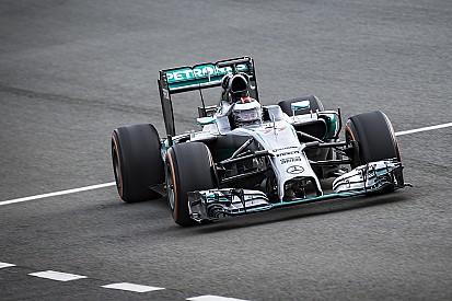 Photos - Le test de Jorge Lorenzo avec Mercedes F1