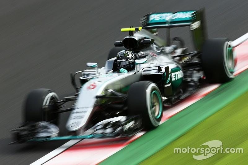 GP Jepang: Rosberg tercepat di FP3, Hamilton tercecer di P7