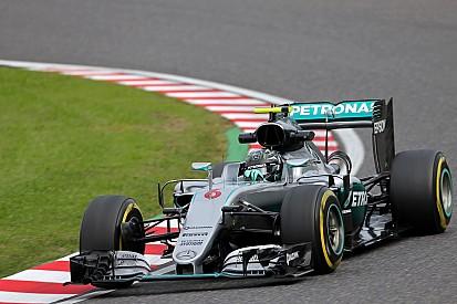 日本大奖赛FP3:罗斯伯格领先,红牛、法拉利紧随其后